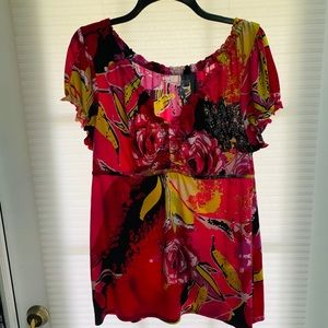 Lane Bryant Top Shirt Blouse Size 14/16